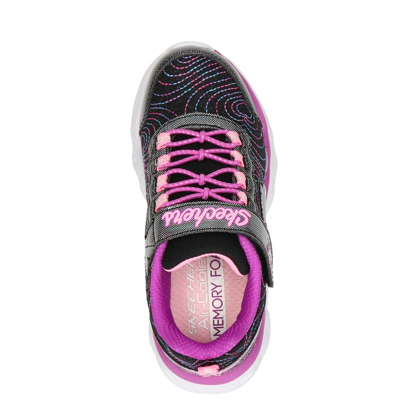 Skechers Forever Hearts - Lage sneakers - Zwart
