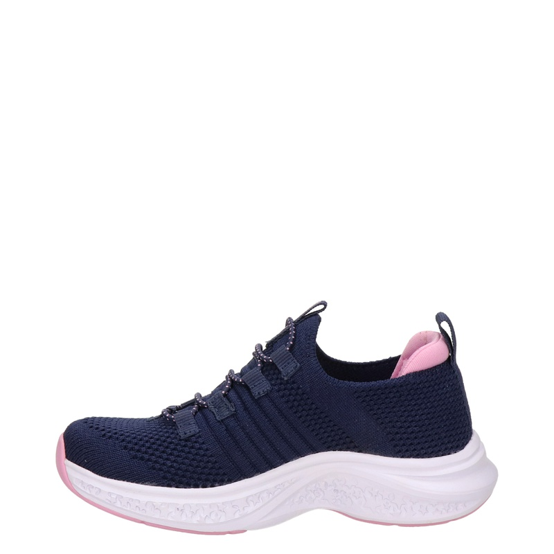 Skechers Stretch Fit - Lage sneakers - Blauw