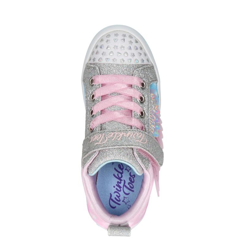 Skechers Twi-Lites 2.0 - Klittenbandschoenen - Roze