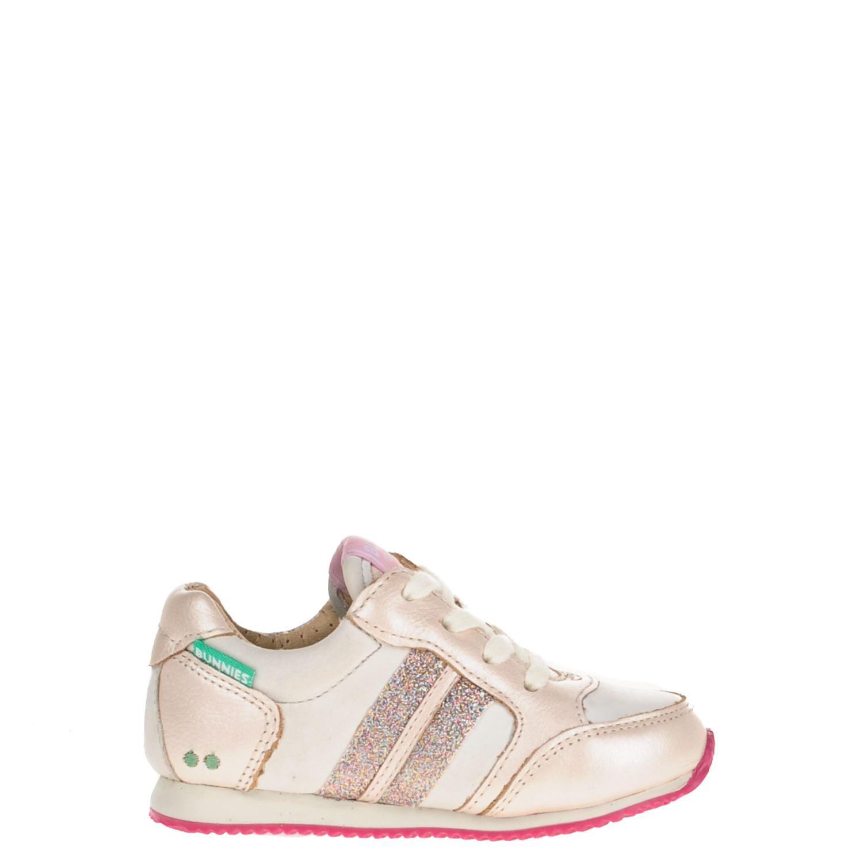 d417dcf1fbb Bunnies meisjes lage sneakers roze