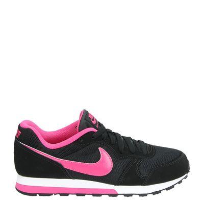 Nike meisjes sneakers zwart