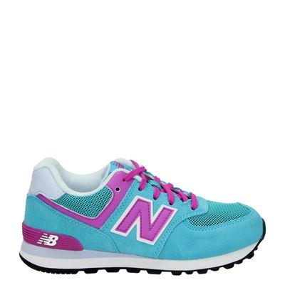 New Balance meisjes sneakers blauw