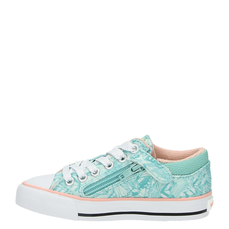 Vingino Naomi Low meisjes lage sneakers groen