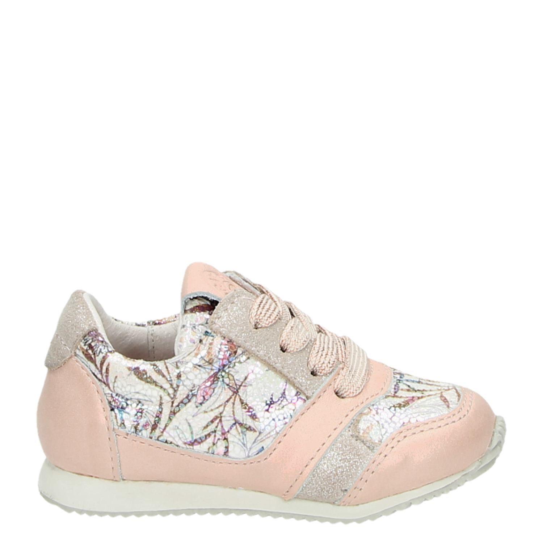 Kinderschoenen Maat 23.Orange Babies Meisjes Lage Sneakers Roze