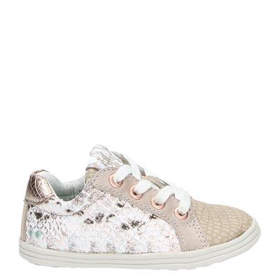Bunnies meisjes sneakers rose goud