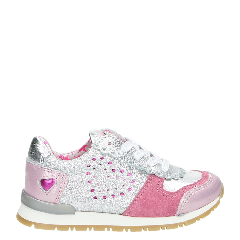 5d5e2052cdd Mim-Pi meisjes lage sneakers roze