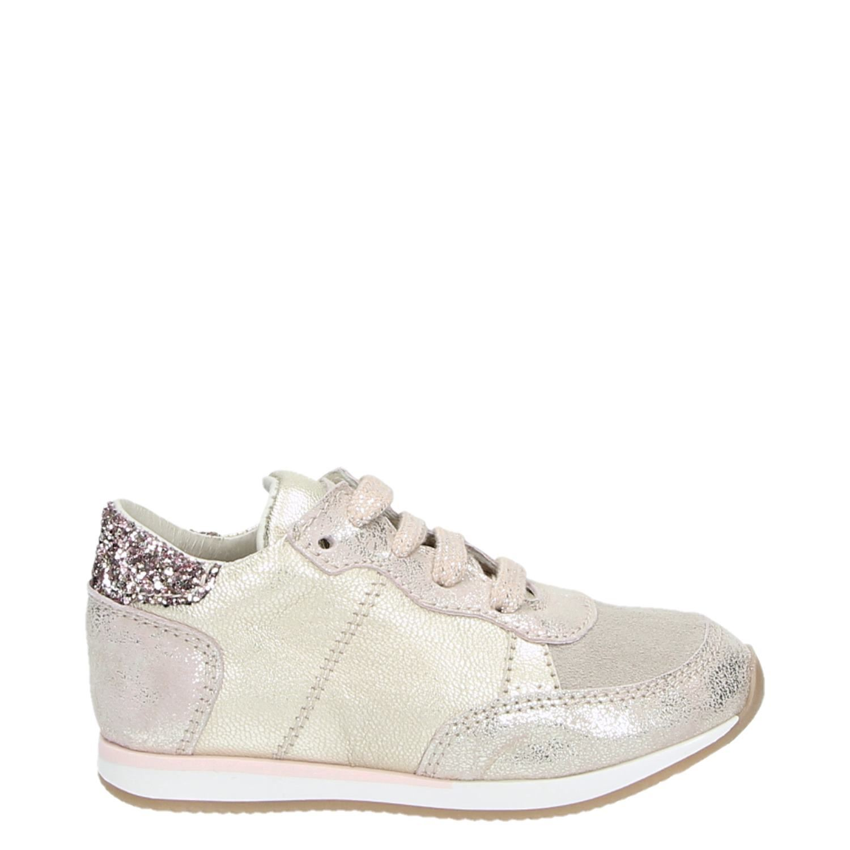 9ce41aefad5 Clic! meisjes lage sneakers rose goud