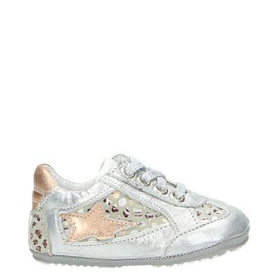 Jochie meisjes sneakers zilver