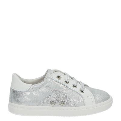 Develab meisjes sneakers zilver