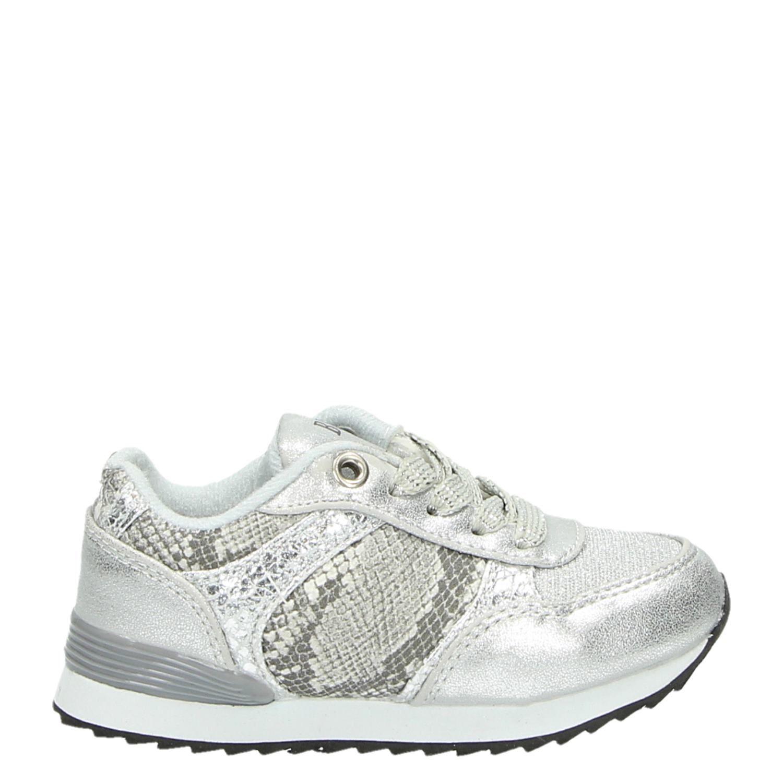 4fd87ecb125 Blox meisjes lage sneakers zilver