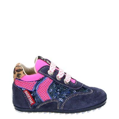 Shoesme Baby-proof babyschoenen blauw