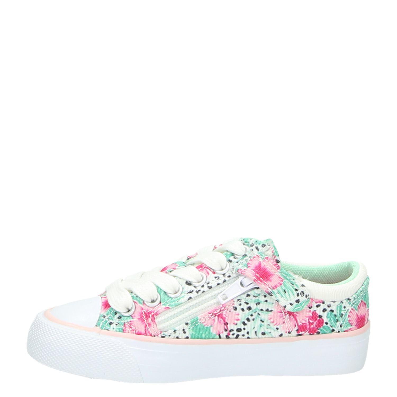 Vingino meisjes lage sneakers groen