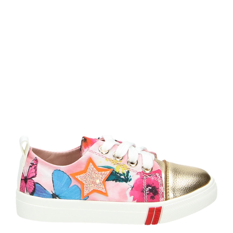 65902097937 Shoesme meisjes lage sneakers roze