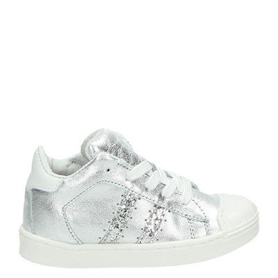 Orange Babies meisjes sneakers zilver