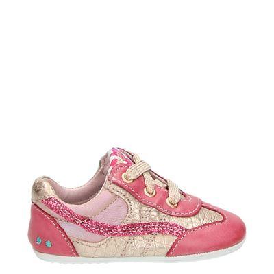 Bunnies meisjes babyschoenen roze