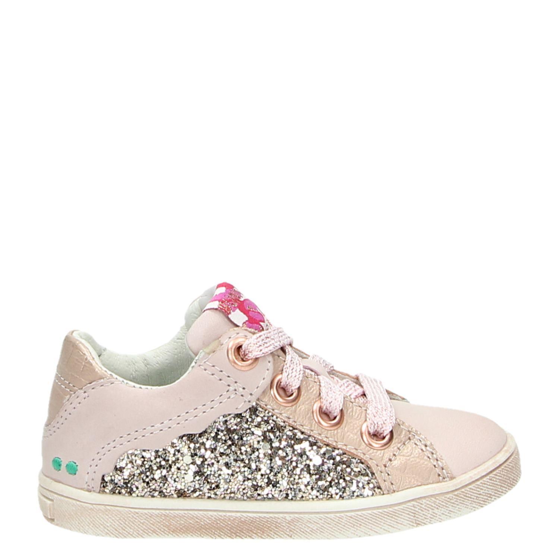 Kinderschoenen Maat 23.Bunnies Meisjes Lage Sneakers Roze