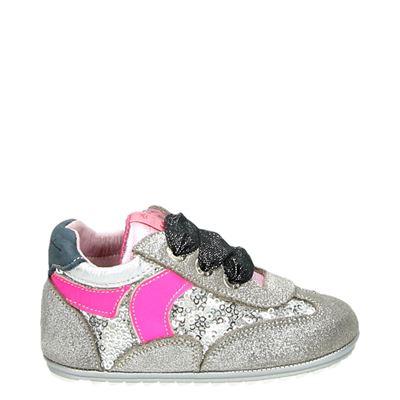 Shoesme meisjes babyschoenen zilver