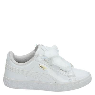 Puma meisjes sneakers wit