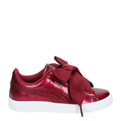 Puma meisjes sneakers rood