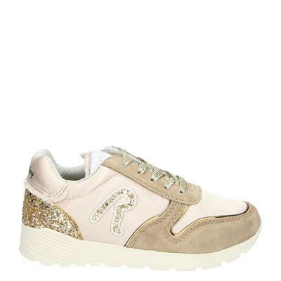 Replay meisjes sneakers beige