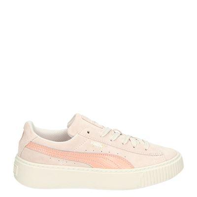 Puma meisjes sneakers roze