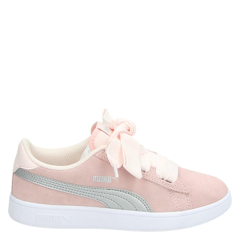 e89d17e7961 Puma meisjes lage sneakers roze