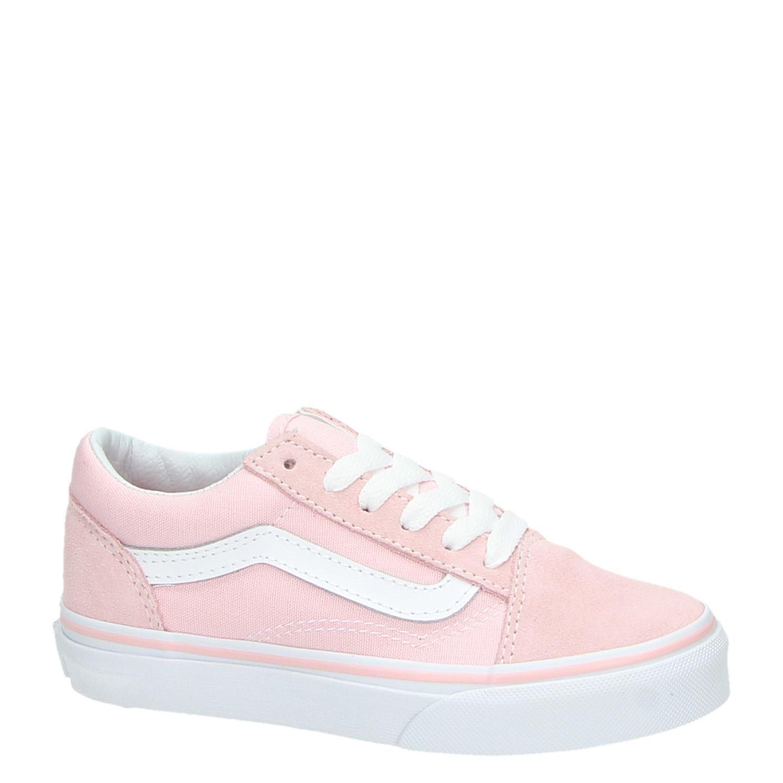 15571f535e9 Vans Old Skool meisjes lage sneakers roze