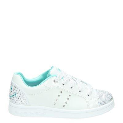 Skechers meisjes sneakers wit
