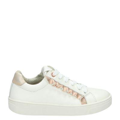Orange Babies meisjes sneakers wit