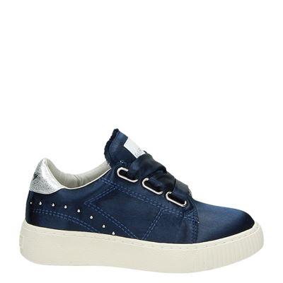 Replay meisjes sneakers blauw