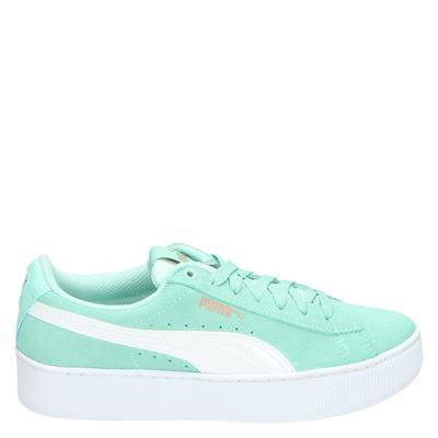 Puma meisjes sneakers blauw