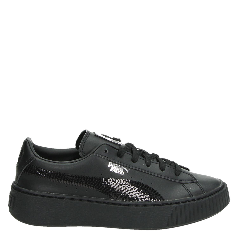 puma basket zwart