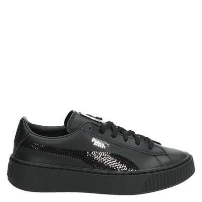 Puma meisjes sneakers zwart