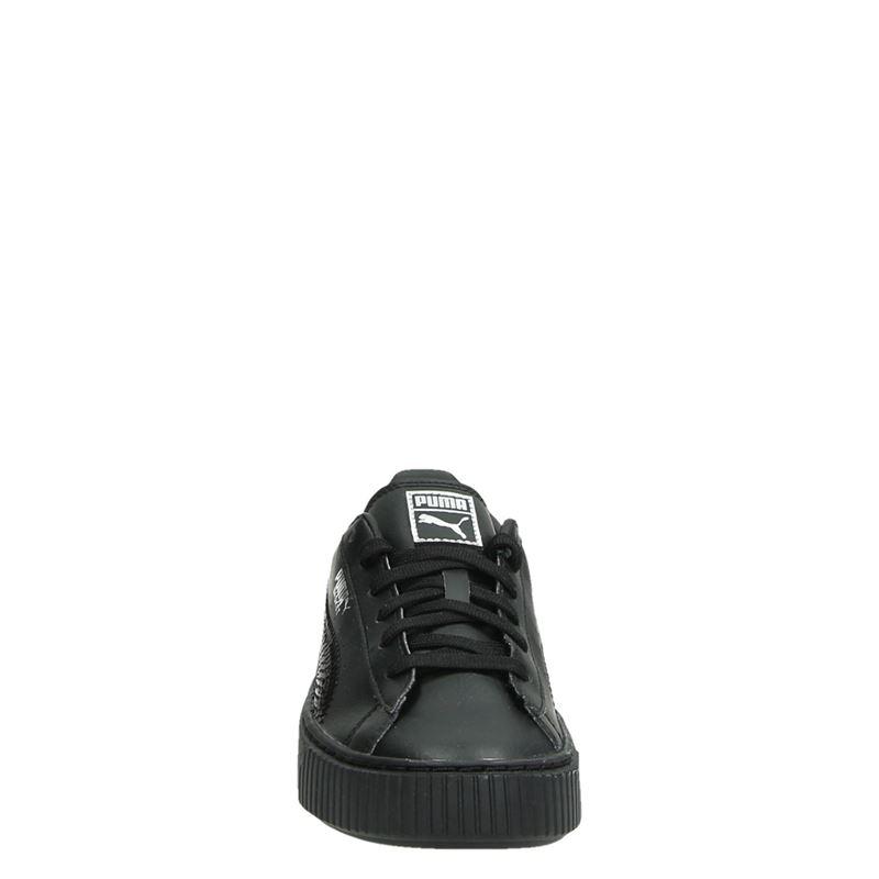 Puma Basket Platform Blin - Lage sneakers - Zwart