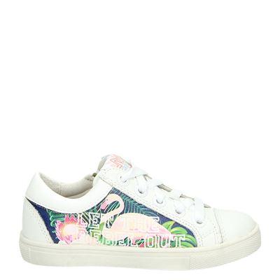 braQeez meisjes sneakers wit