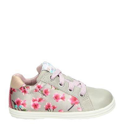 Bunnies meisjes sneakers taupe