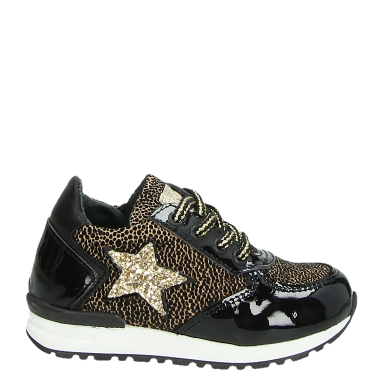 df66f4fbcff Pinocchio meisjes lage sneakers zwart