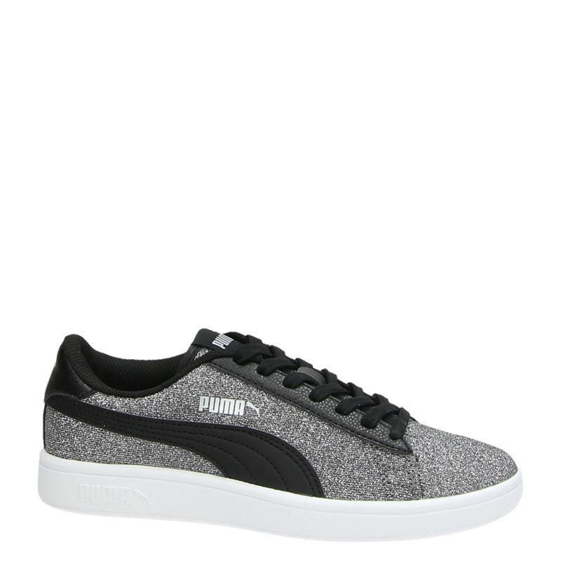 Puma Smash Glitz Glam - Lage sneakers - Zilver