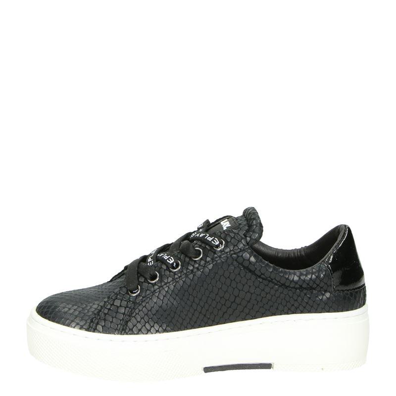 Replay Ginko - Lage sneakers - Zwart