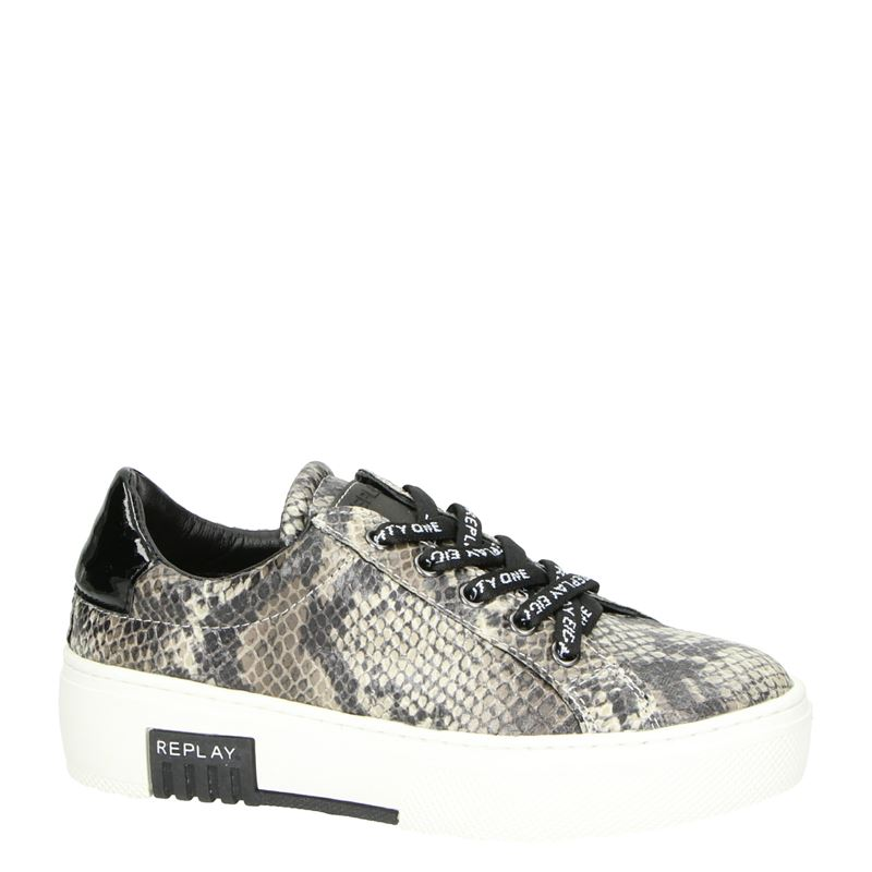 Replay Ginko - Lage sneakers - Bruin