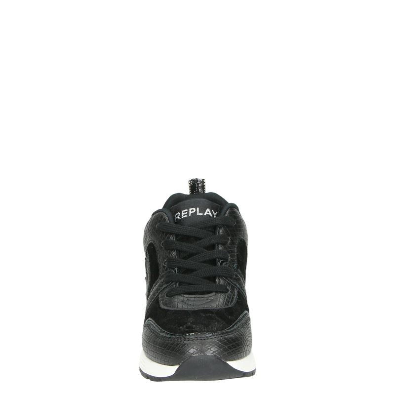 Replay Yori - Lage sneakers - Zwart