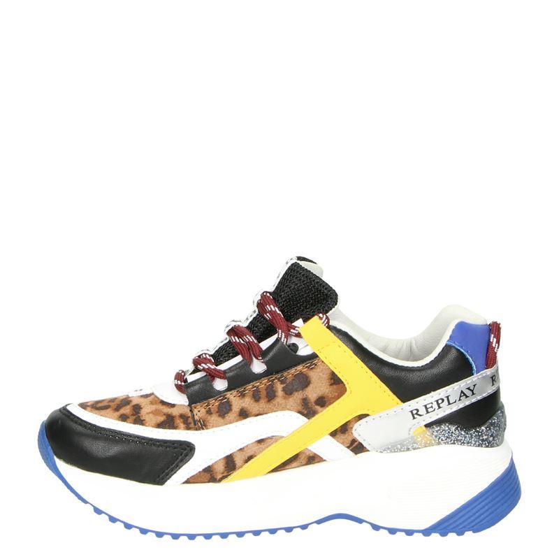 Replay Kumi - Dad Sneakers - Bruin