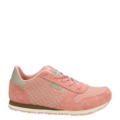 Woden Wonder meisjes sneakers roze