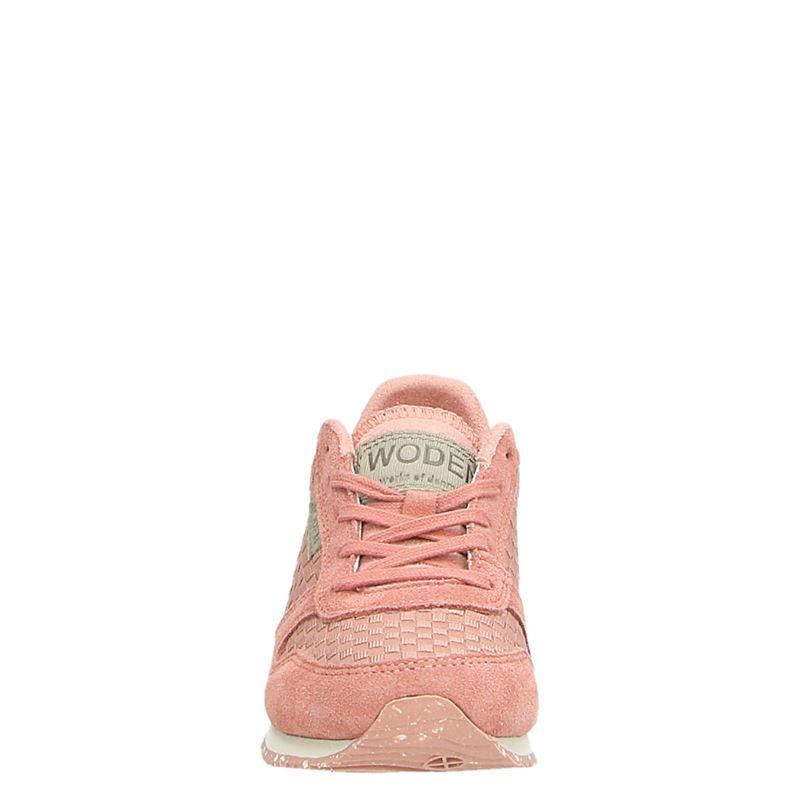 Woden Wonder Wonder - Lage sneakers - Roze