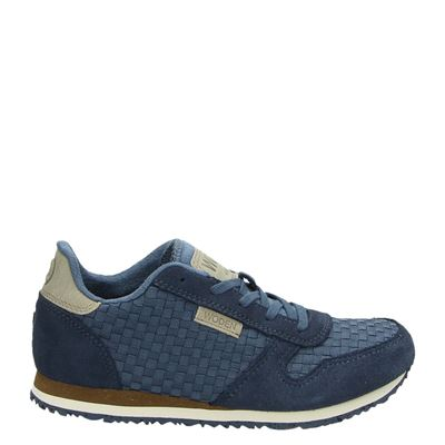Woden Wonder meisjes sneakers blauw