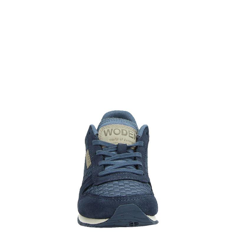 Woden Wonder Wonder - Lage sneakers - Blauw