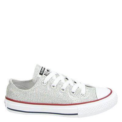 Converse meisjes sneakers zilver