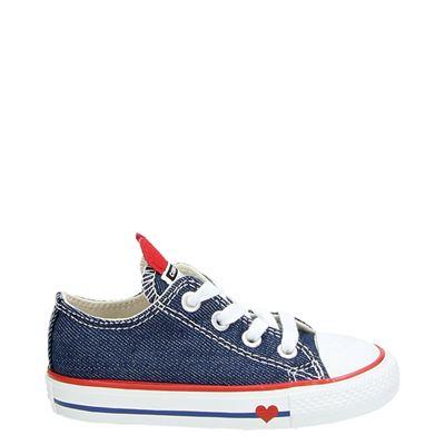 Converse meisjes sneakers blauw