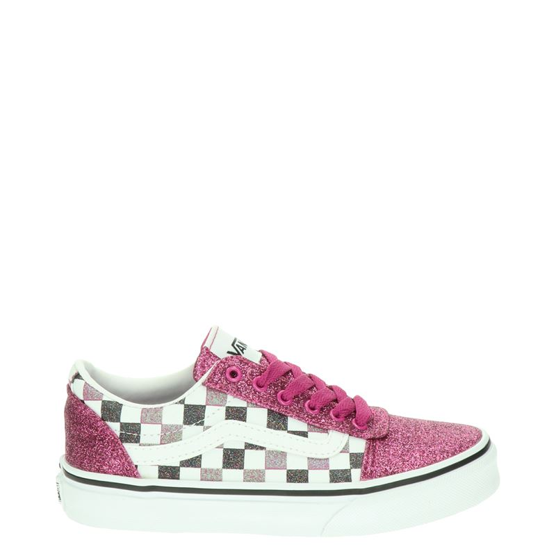 Vans Glitter Checker - Lage sneakers - Roze
