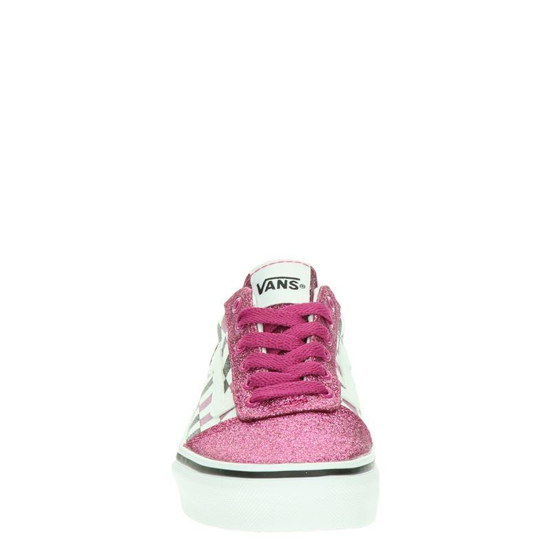 Vans Glitter Checkerboard - Lage sneakers - Roze